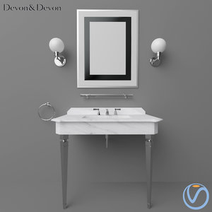 devon vanity 3D model