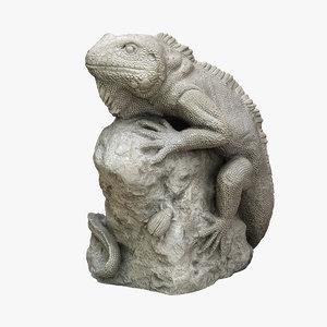 scan lizard 3D