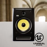 krk rokit5 speaker 3D