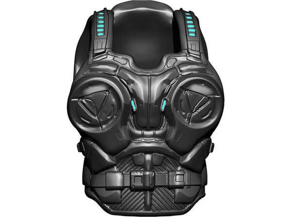 3D model jd armor fenix