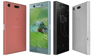 3D sony xperia xz1 compact