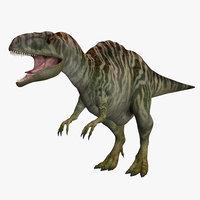 acrocanthosaurus 3D model