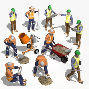 workman engineer 3D model