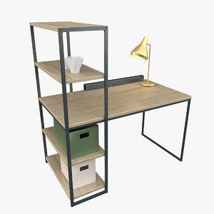 office table hiba lamp lights model