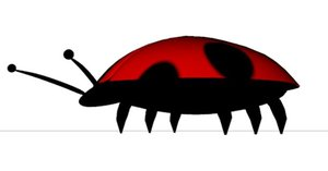 lady bug 3D model