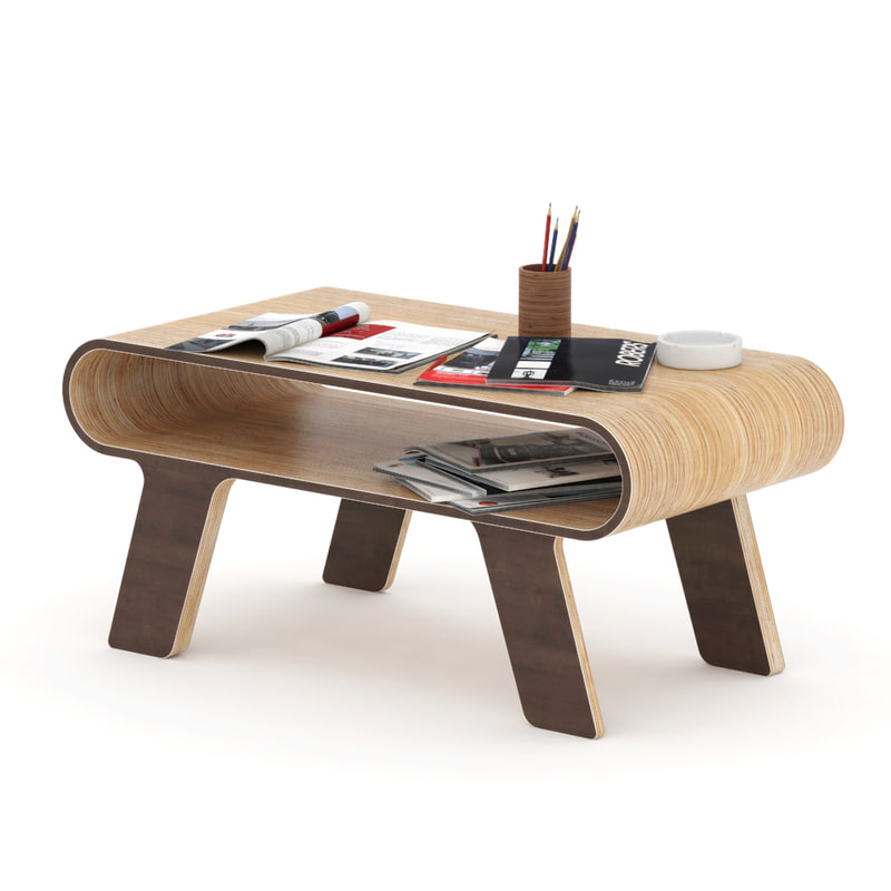 plywood table model