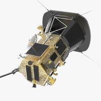 Space Probe  Parker 3D model