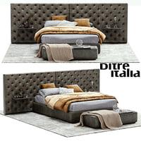 3D model ditre italia eclectico bed