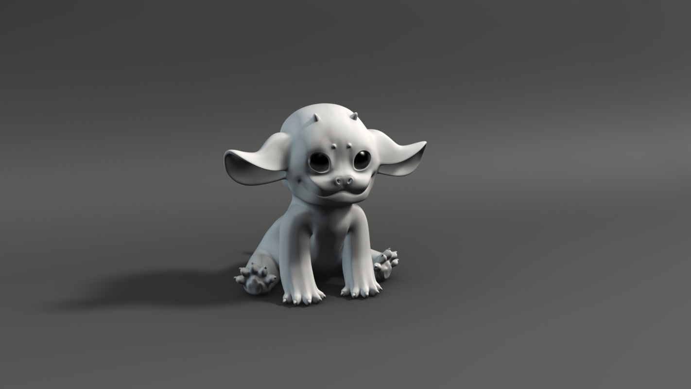 imaginary inari fox model