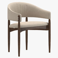 enroth dining chair 3D model