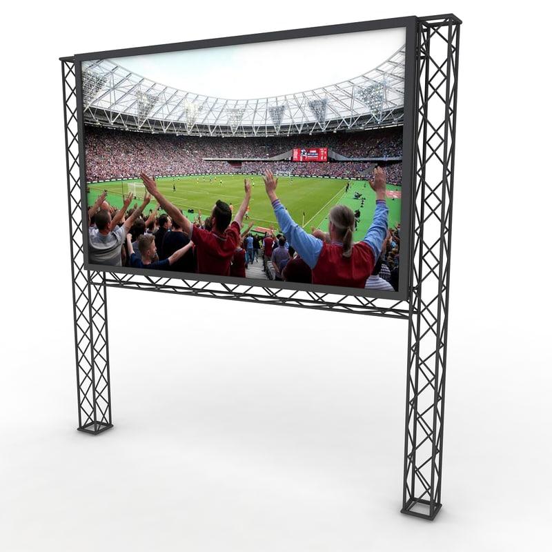 scaffolding bim video 3D model
