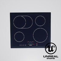 induction 4-burner cooktop gaggenau model