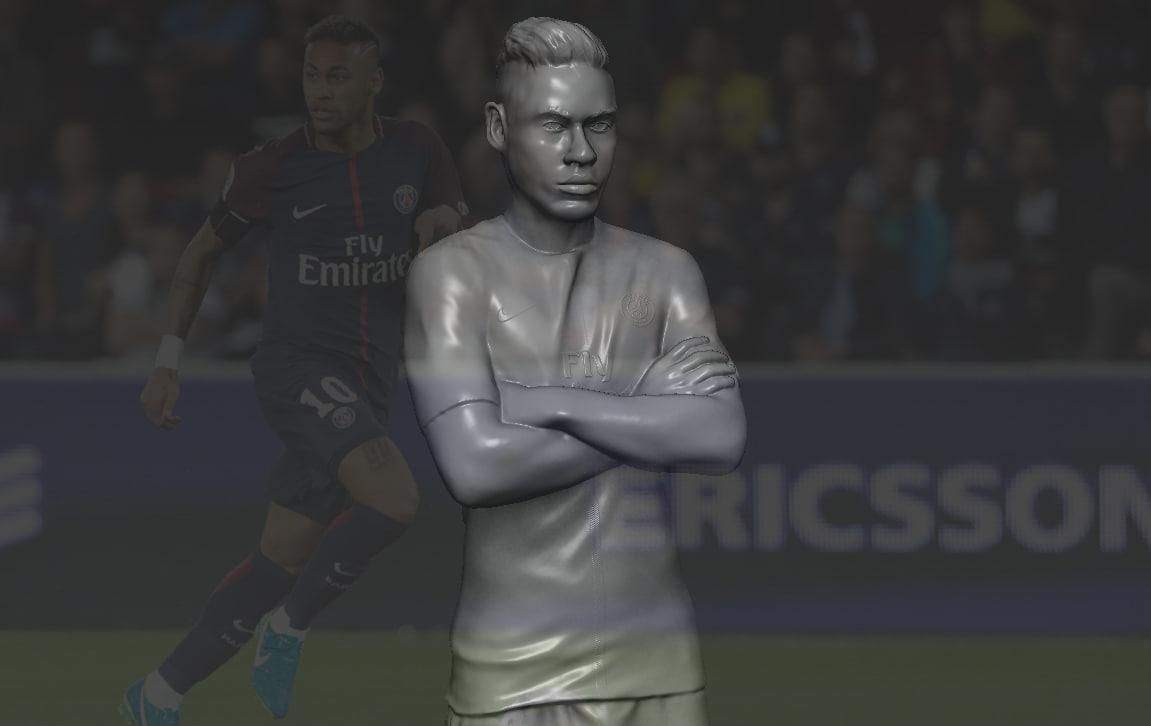 3D neymar ready printing stl