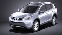 toyota rav4 2015 3D model