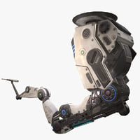 robotic arm 01 3D