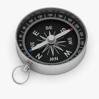 3D compass poles