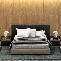 3D model poliform bruce bed