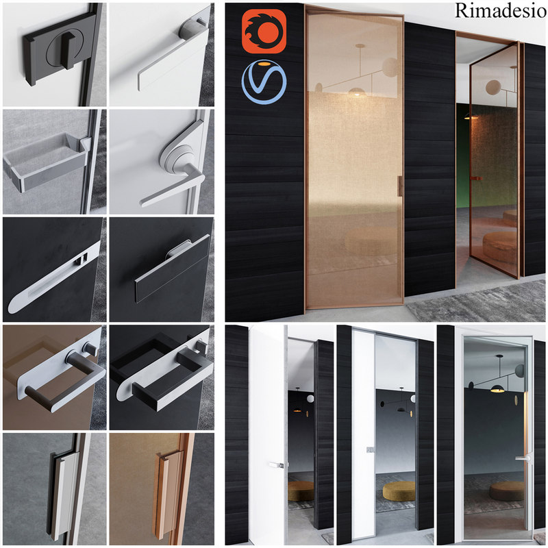 rimadesio doors - office 3D