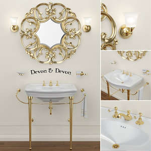 3D model sink new etoile mirror