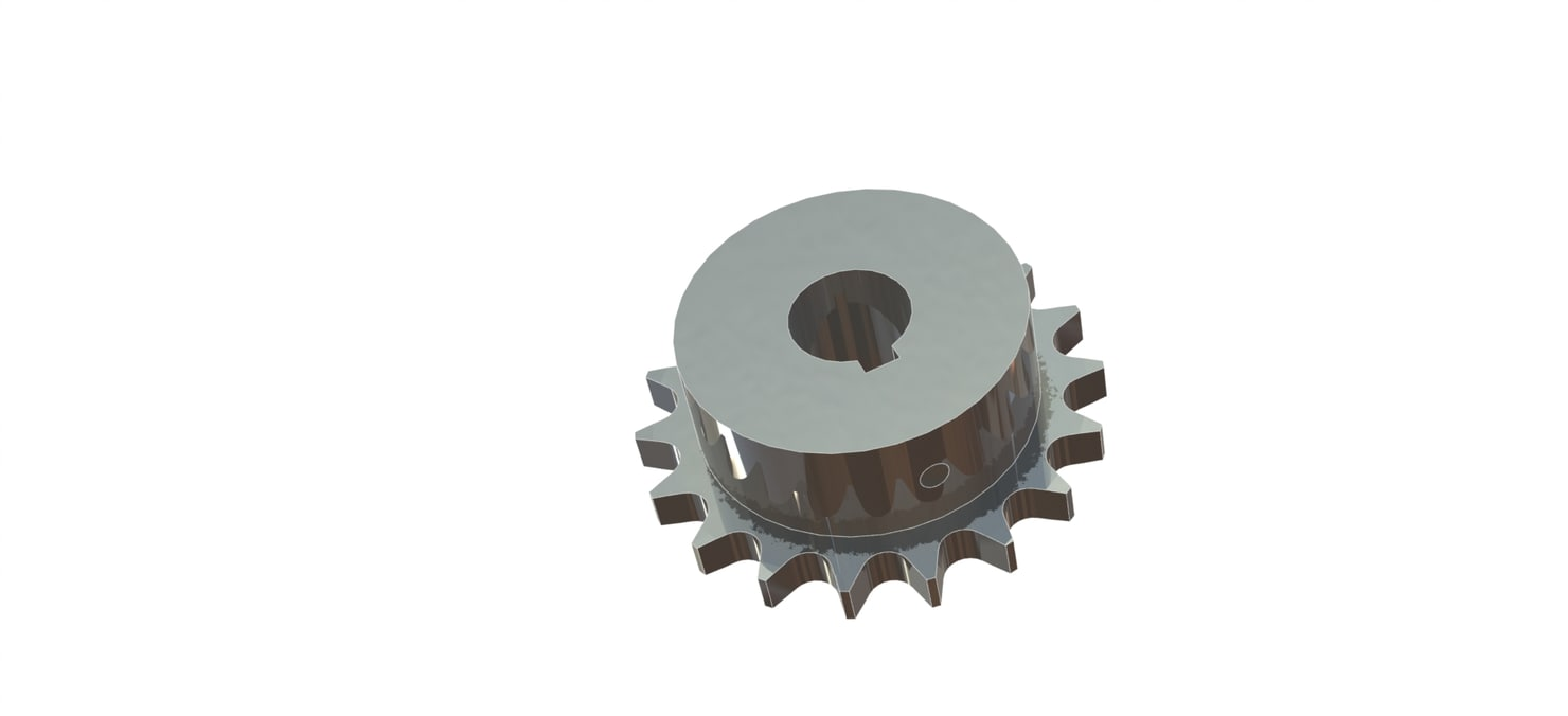 lml sprocket ansi 40 3D model