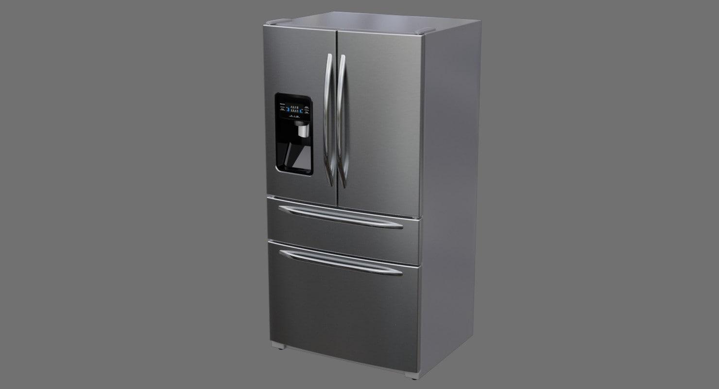 refrigerator 3a 3D model