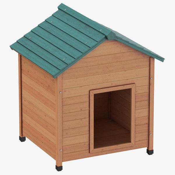 dog house 01 3D model