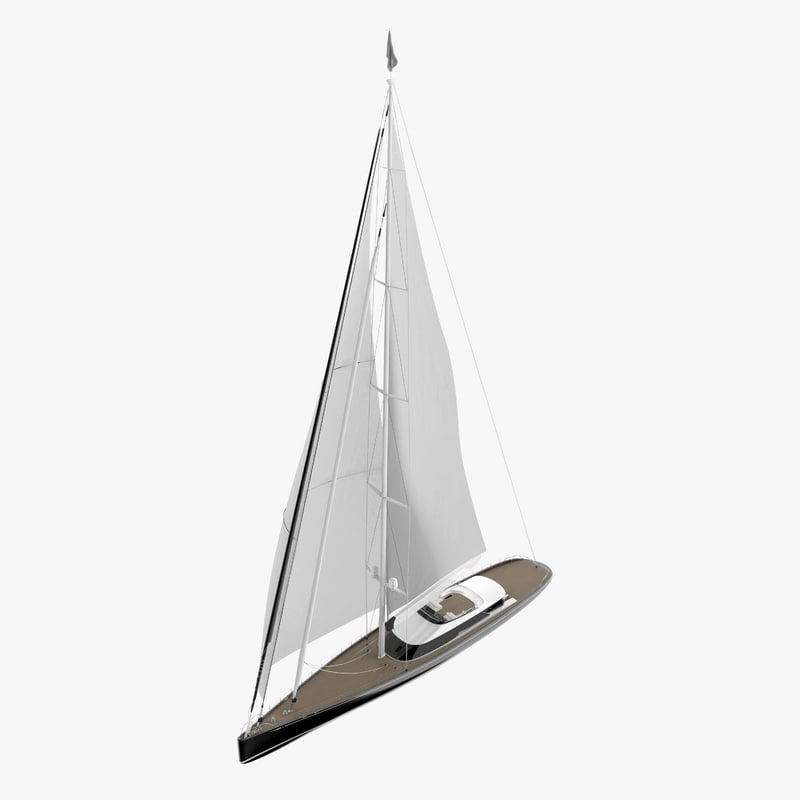 3D model kokomo super yacht