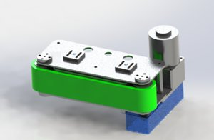 3D locating conveyor