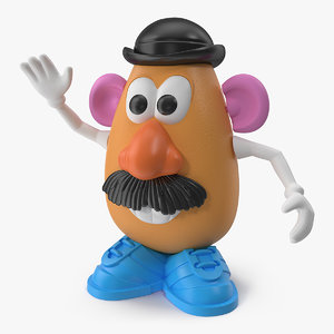 3D toy mr potato head