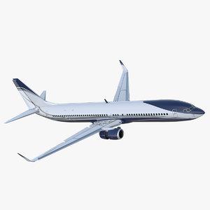 3D boeing 737 900 er model