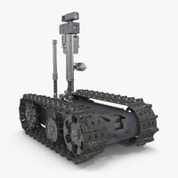 multi functional tracked military 3D model