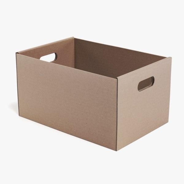 carrier box 3D