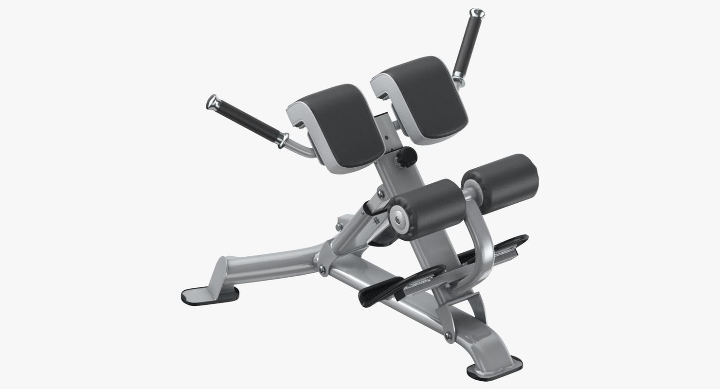 3D roman bench multi - model