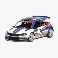 Skoda Fabia R5 WRC 2018