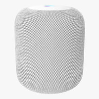 apple homepod smart speaker 3D model