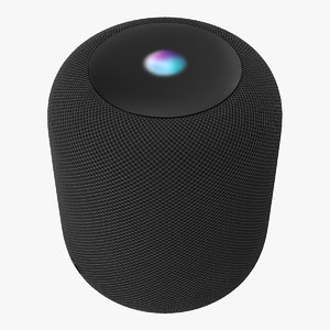 3D apple homepod