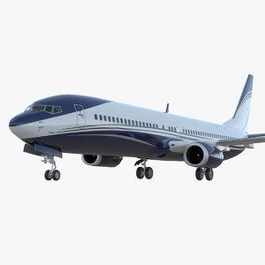 3D boeing 737-900 er generic