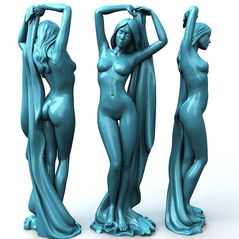 3D figure model