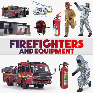 firefighters equipment model