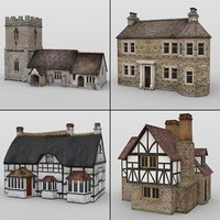 3D model buildings daz studio