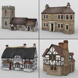 3D model buildings daz studio
