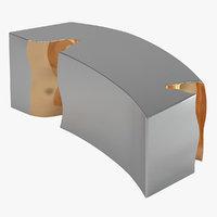 table 142 sculptural 3D model