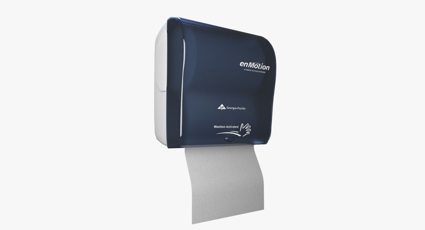 3D model paper towel dispanser