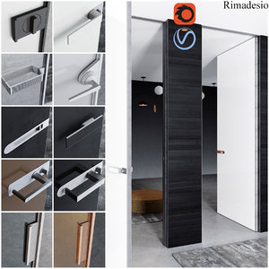 rimadesio doors - office 3D model