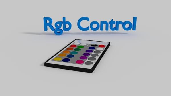 3D rgb control