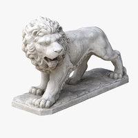 scan lion 3D model