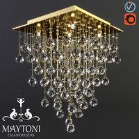 maytoni modern swirl mod217-40-g 3D model