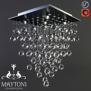 maytoni modern swirl mod217-40-n 3D