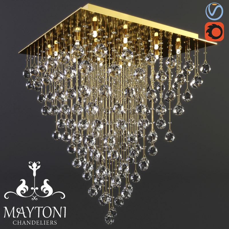 maytoni modern swirl mod217-60-g 3D model