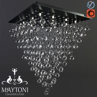 3D maytoni modern swirl mod217-60-n model